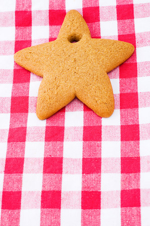 checker: Star shaped cookie