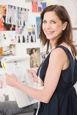 Fashion designer LANG_EVOIMAGES