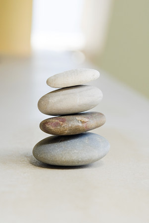 lastone therapy: Stack of pebbles