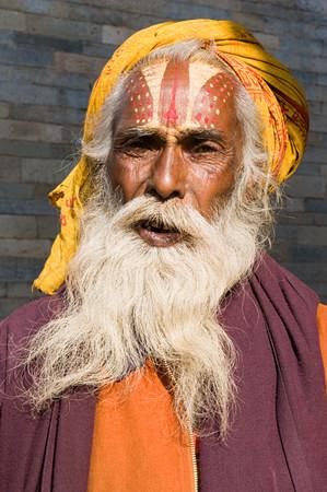 indian subcontinent ethnicity: Hindu sadhu