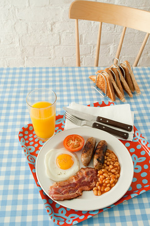 unhealthiness: English breakfast