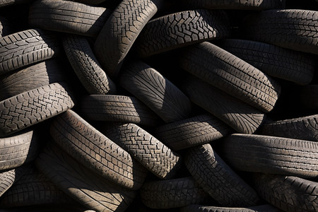 discarded: Tyres