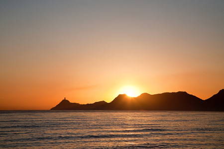 mornings: Dili harbor at sunrise