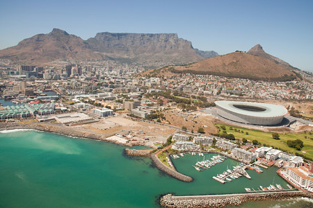 travel features: Cape town stadium and coast LANG_EVOIMAGES