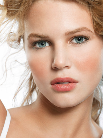 ponderous: Portrait of young blonde woman