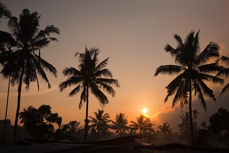 lombok: Sunrise in lombok indonesia