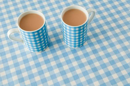 tea breaks: Two cups of tea