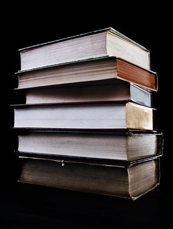 tatty: Stack of books