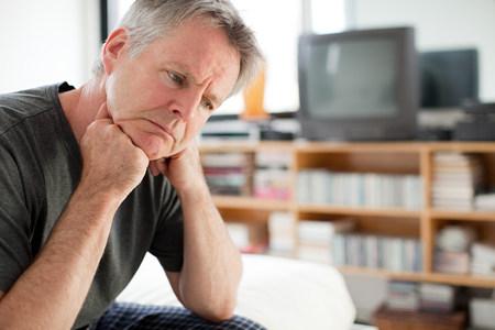 Depressed man LANG_EVOIMAGES