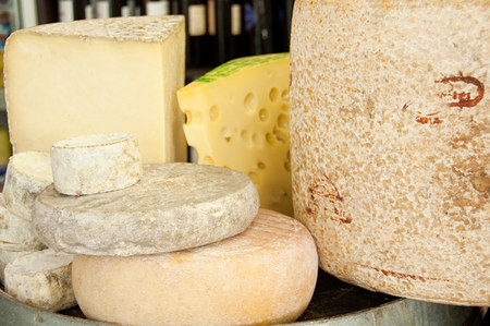 unbalanced: Cantal and auvergne cheeses LANG_EVOIMAGES