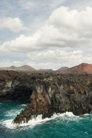 Coastline of Los Hervideros, Lanzarote LANG_EVOIMAGES