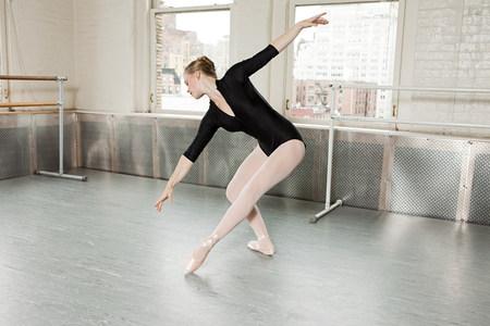 panty hose: Ballerina in pose
