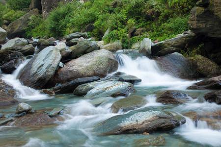himachal pradesh: Bhagsu waterfall, Bhagsu, Himachal Pradesh, India