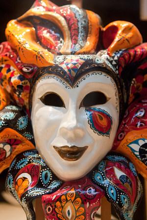 mediterranean culture: Venice carnival mask