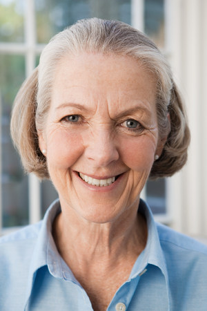 the sixties: Portrait of a senior woman