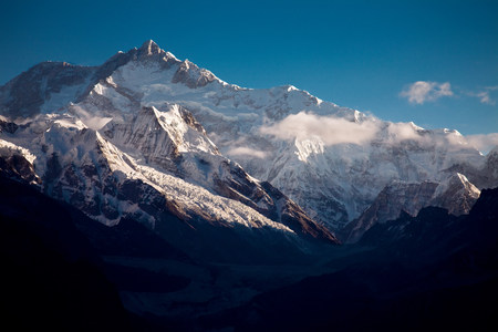 coldness: Thangsing,Himalayan Kanchenjungs Region,Sikkim,India