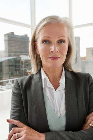 ponderous: Mature businesswoman, portrait