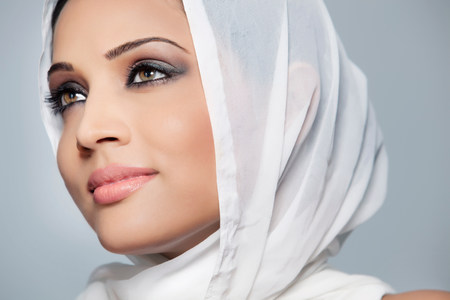 indian subcontinent ethnicity: Portrait of a beautiful woman