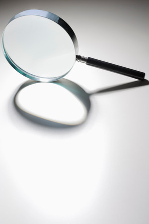 rounded circular: Magnifying glass LANG_EVOIMAGES
