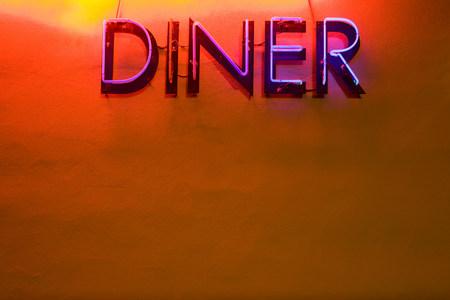 Neon diner sign LANG_EVOIMAGES