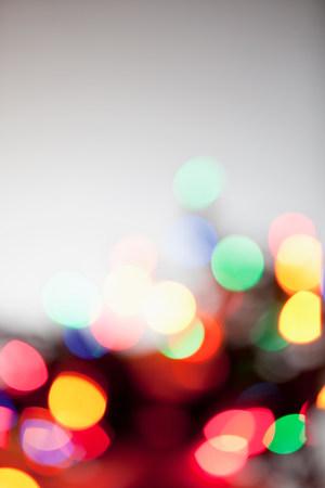 defocussed: Defocussed multi colored lights