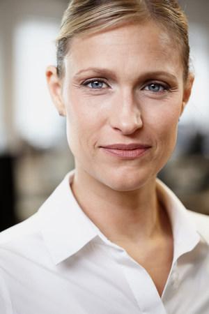 authoritative woman: Portrait of a businesswoman