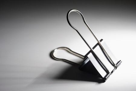 organised: Binder clip