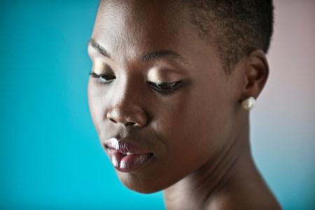 ponderous: Young woman,portrait LANG_EVOIMAGES