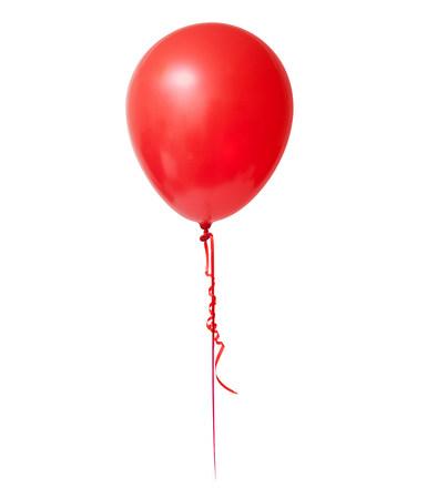 personas festejando: Red balloon