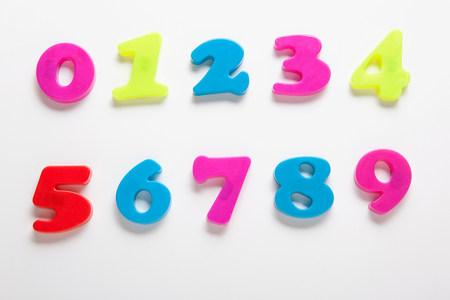 Fridge magnet numbers