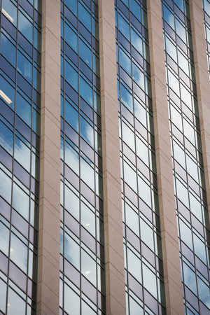 towering: Close up of urban skyscraper LANG_EVOIMAGES