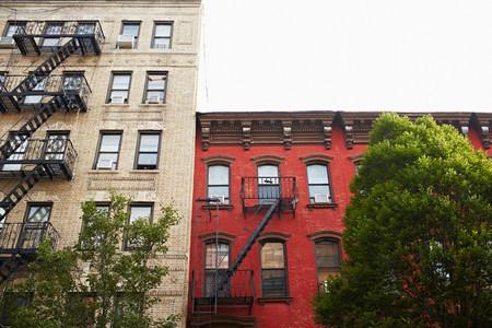 Apartment buildings,Williamsburg,New York,USA