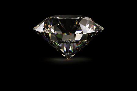 Diamond against black background LANG_EVOIMAGES