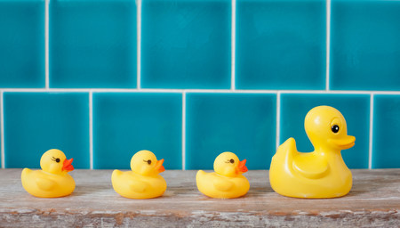 Rubber ducks in a row LANG_EVOIMAGES