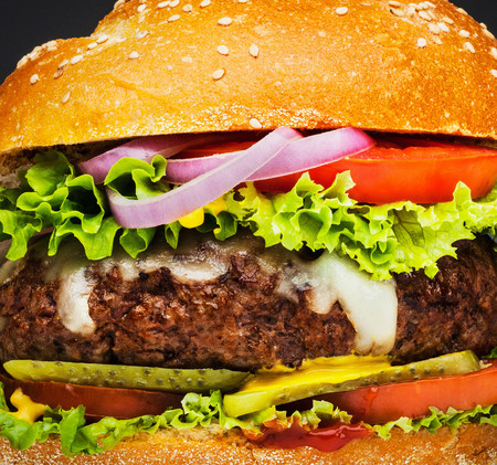 Burger full frame LANG_EVOIMAGES