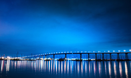 famous industries: San Diego–Coronado Bridge,San Diego,California,USA