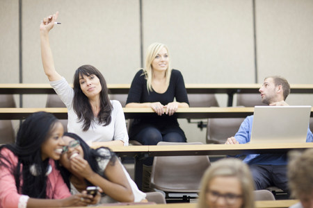 lecturing hall: Students in lecture