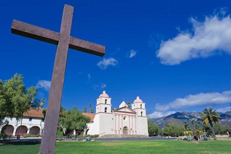 Santa Barbara Mission,Santa Barbara,California,USA