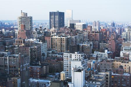 housing lot: East side cityscape,Manhattan,New York City,USA