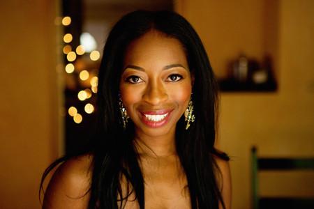 Portrait of mature woman smiling