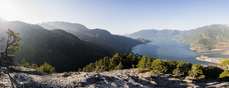 panoramas: Squamish, British Columbia, Canada LANG_EVOIMAGES