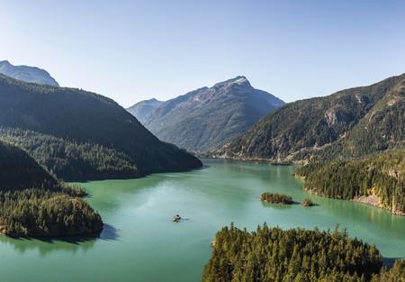 Diablo lake,Diablo,Washington,USA LANG_EVOIMAGES