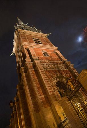 in low spirits: Tyska Kyrkan (German Church) at night,Stockholm,Sweden