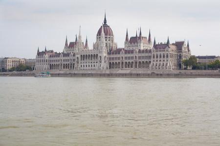 Hungarian parliament building Budapest,Hungary