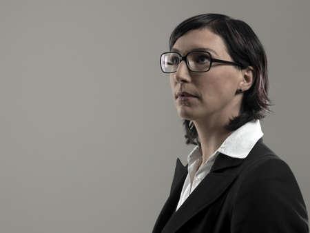 musing: Business woman, portrait
