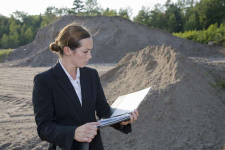 insights: Business woman planning development LANG_EVOIMAGES