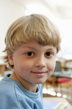 accomplishes: Portrait of Elementary School Student LANG_EVOIMAGES