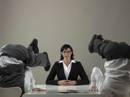 overachiever: Business meeting LANG_EVOIMAGES