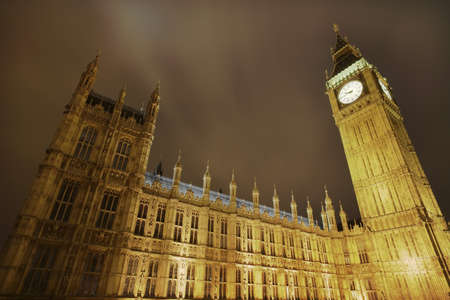 parliaments: Big Ben and Westminster