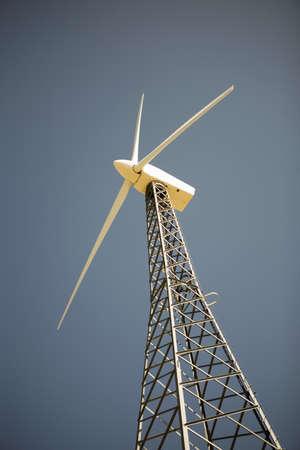 Wind turbine generating electricity